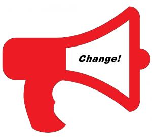 change bullhorn